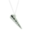 sentio jewellery - corkscrew pendant
