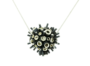 sentio jewellery magnified porcupine