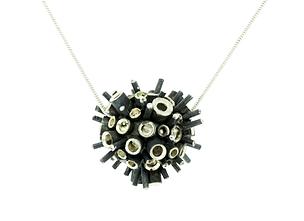 sentio jewellery magnified porcupine