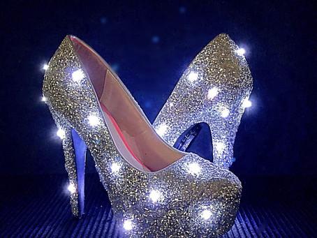 Making it in high heels...