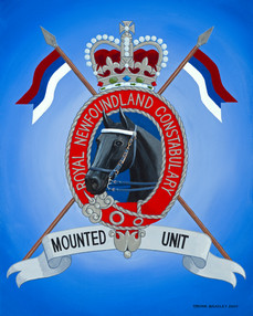 Mounted Unit Crest