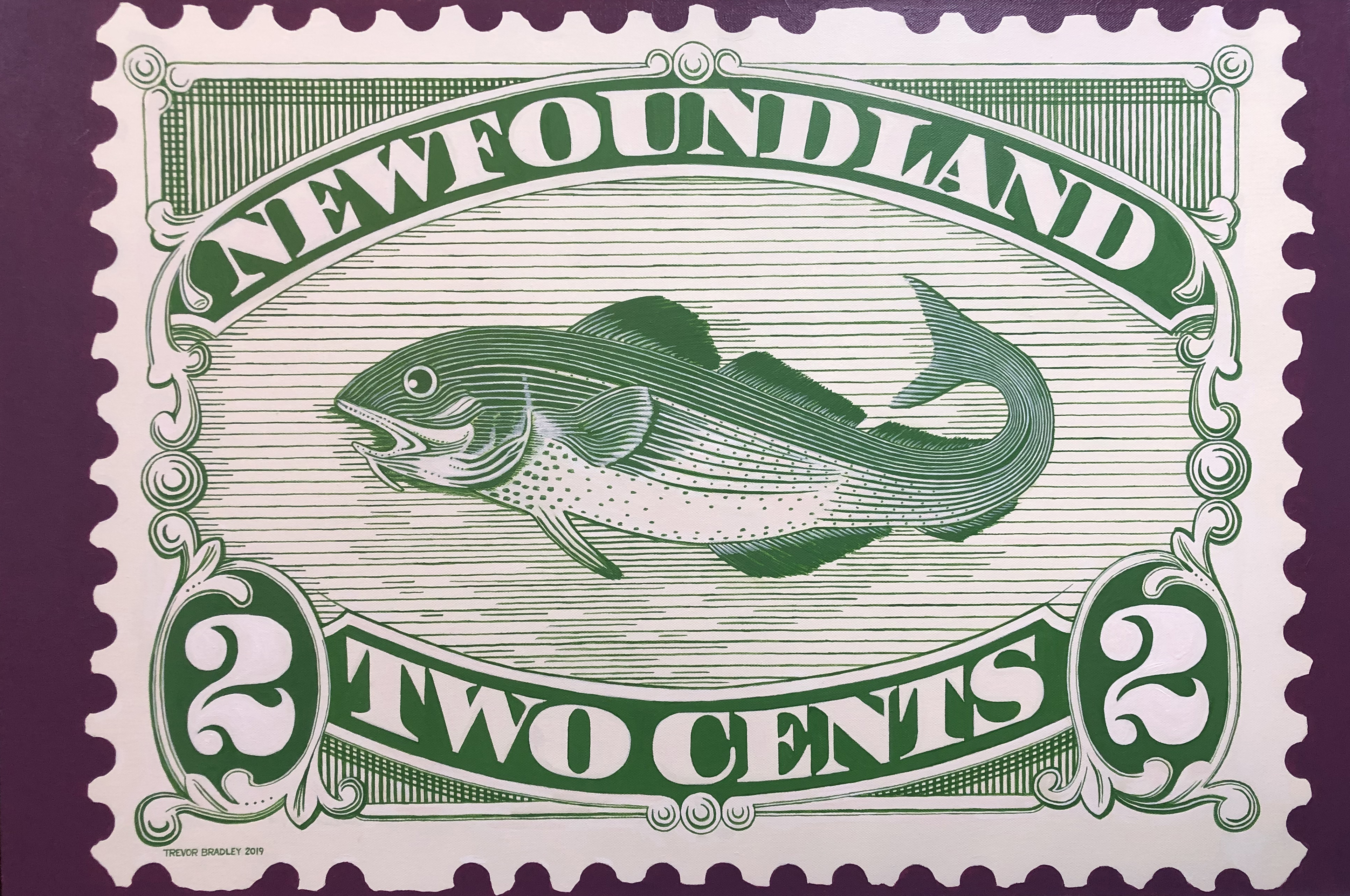 Newfoundland #46a 1896 web image