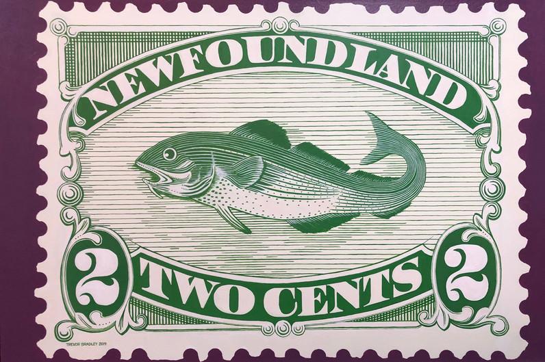 Newfoundland Stamp #46a 1896
