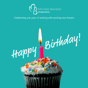 Michelle Barnette Productions turns 1!