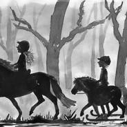 In het bos (de Nachtridder)