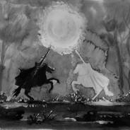 De witte en zwarte ridder (de Nachtridder)