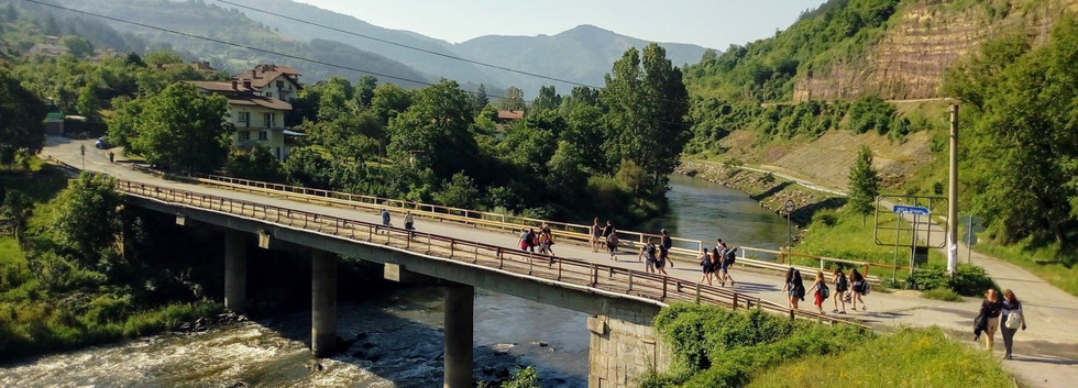Cerovo - the bridge