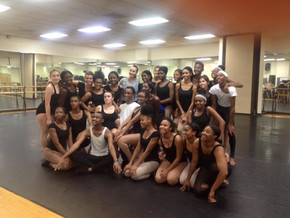 Nuria Serra coreógrafa invita en New Jersey