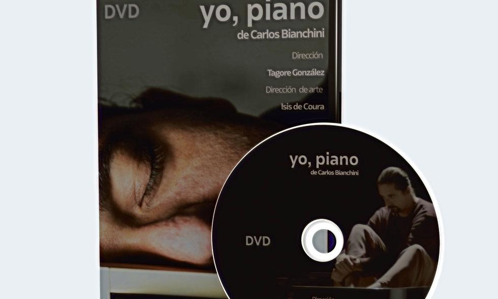 YO PIANO EN EL FESTIVAL DE VERANO DE EL ESCORIAL (DVD)