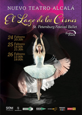 St Pettersburg Festival Ballet por primera vez en España