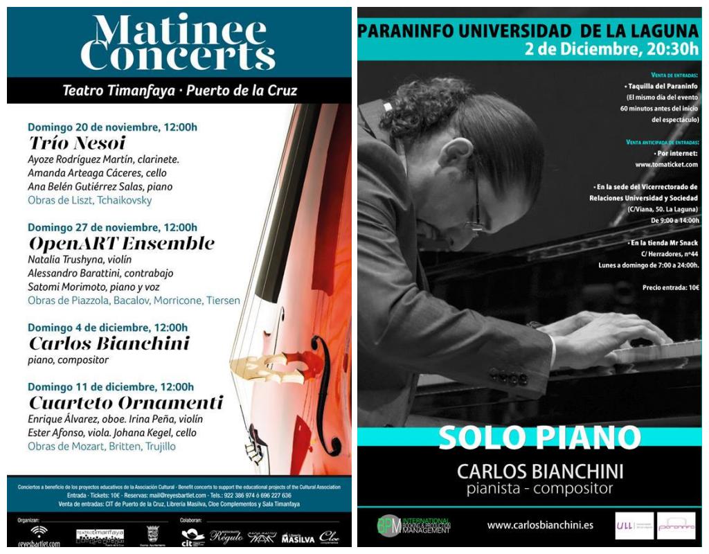 Solo Piano llega a Tenerife