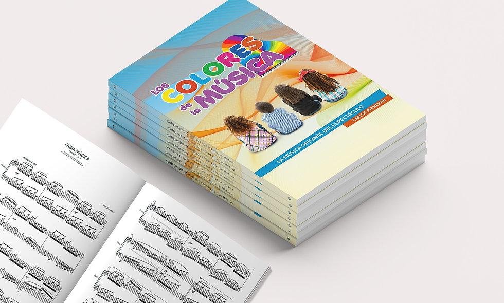 LOS COLORES DE LA MÚSICA (Piano Book)