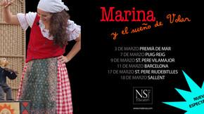 Próximas actuaciones de Marina y el sueño de volar