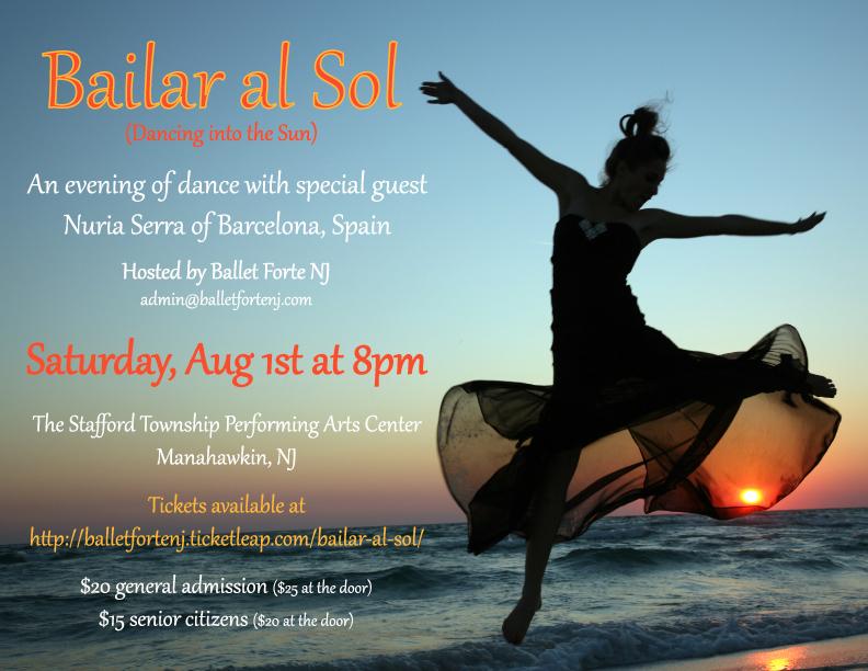 1st Edition Bailar al Sol,New Jersey