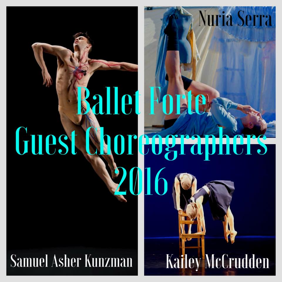 Ballet Forte, Guest Choreographers
