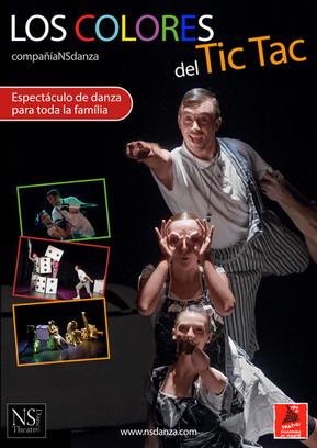 LOS COLORES DEL TIC TAC espectáculo en gira en LA RED DE TEATROS DE LA COMUNIDAD DE MADRID 2017