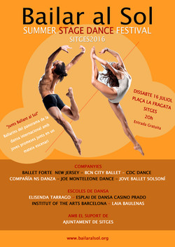 1st Edition Bailar al Sol,Sitges