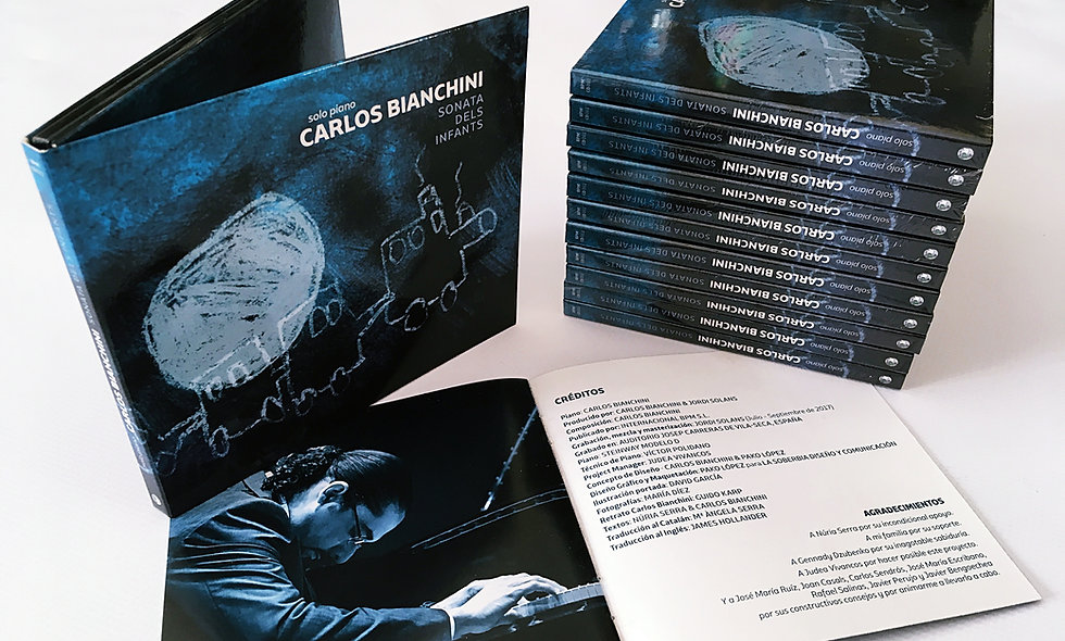 SOLO PIANO - SONATA DELS INFANTS (CD Digipack)