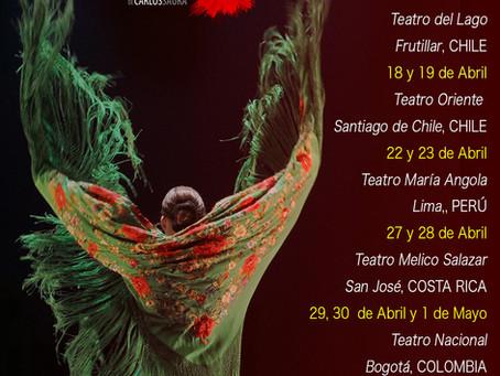 Flamenco Hoy de Carlos Saura de gira por Latinoamérica