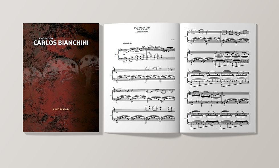CARLOS BIANCHINI: PIANO FANTASY Op. 8 (Piano Score)