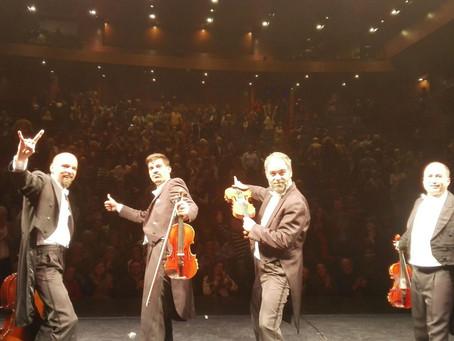 PaGAGnini llega a Santiago de Chile