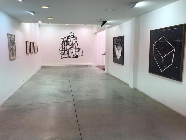 Por LIA, 2019, LIA Faro, vista general de la exposición