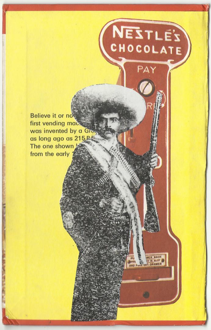 Adrian León Zapata expropia Nestlé  Collage