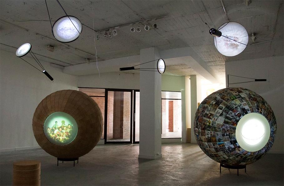 Régimen de Luz y Sombra, Video instalación
