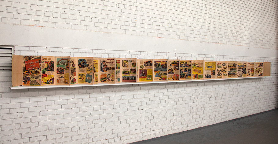 """""""Arbol de lágrimas"""". (El maravillosos mundo del caucho) ) Impresión digital. 2015, Lia laboratorio, Bogotá"""