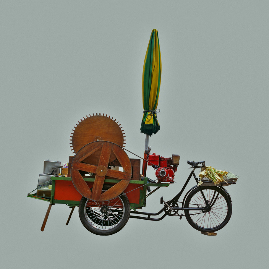Máquina de Guerra, Impresión digitl sobre papel de algodón. 50 x 50 cms