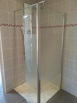 Pose d'une cabine de douche plombier chartres