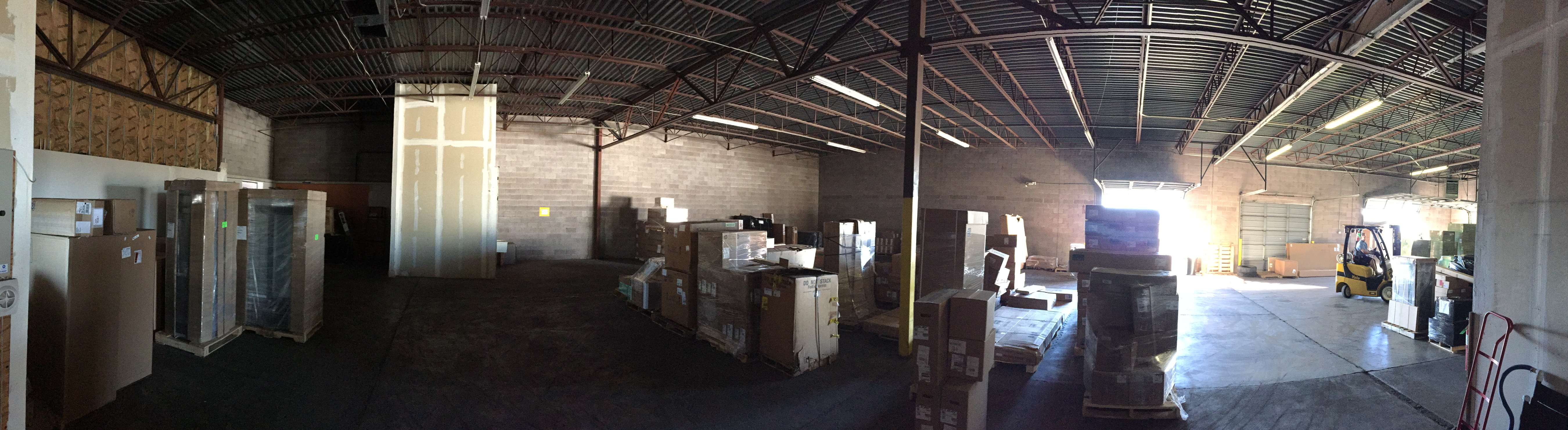 Warehouse Pano Facing Southeast