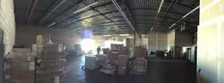 Inside Warehouse Facing West