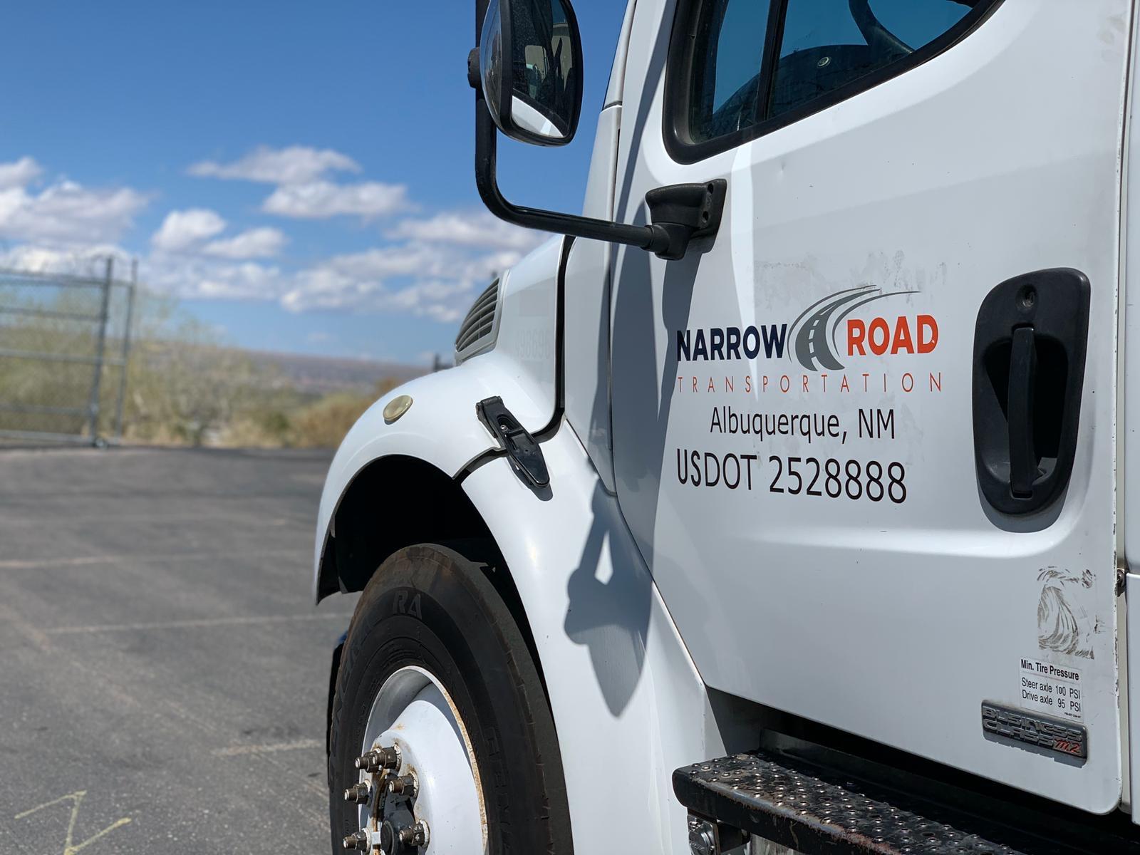 Narrow Road Truck