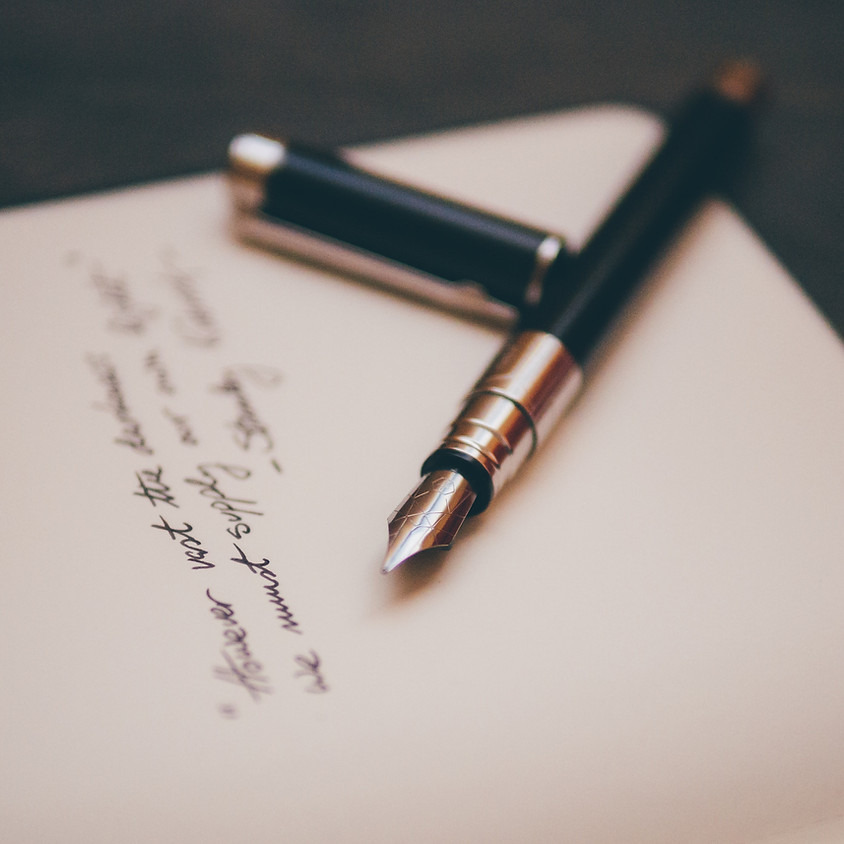 Creative Writing Workshop - Society Fundraiser
