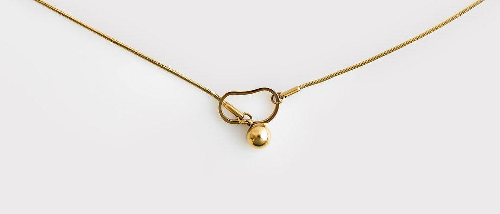 ball + chain necklace