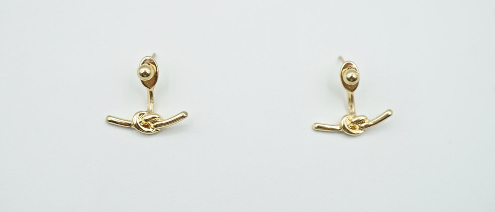 eila knot earrings