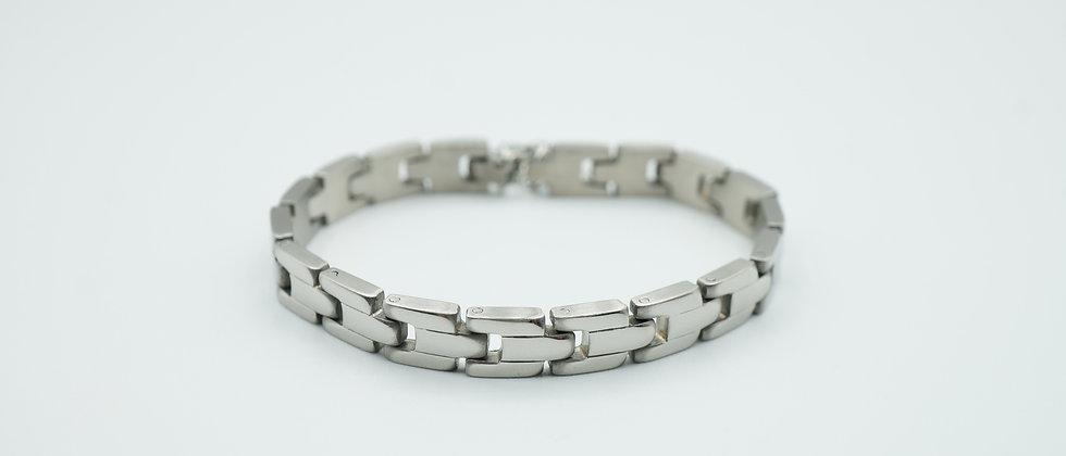 lien bracelet - silver
