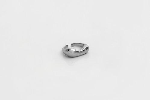 lila ring silver