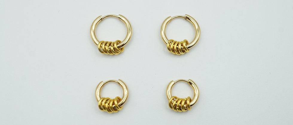 seville hoops gold