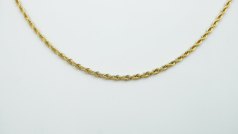siena rope chain necklace
