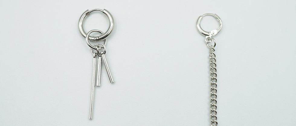 valentina chain earrings