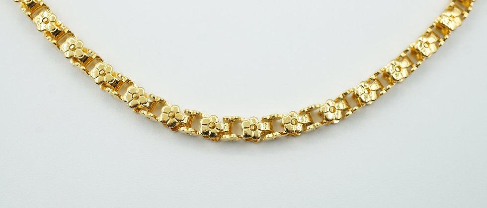 nola flower chain necklace