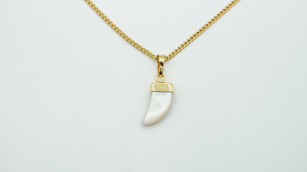 ophilo tooth necklace