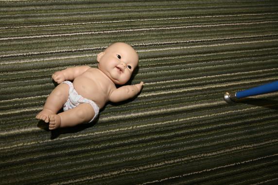 Doll on Floor