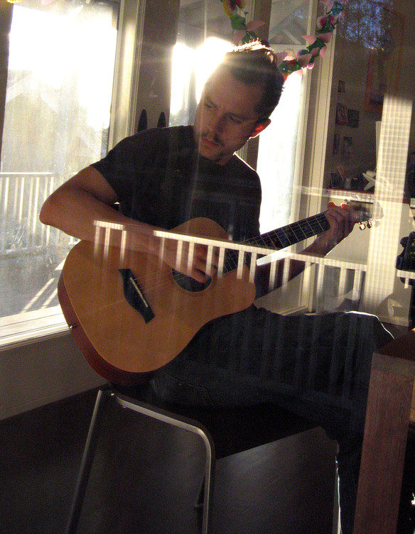 Giovanni with Guitar