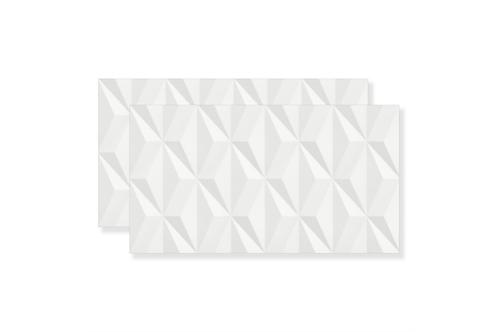 Revestimento Escala branco 32,5x59 acetinado - caixa c/1,92 m² - Eliane
