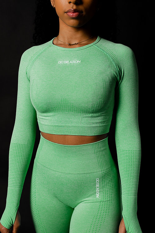 Envision Seamless Long Sleeve Crop Top