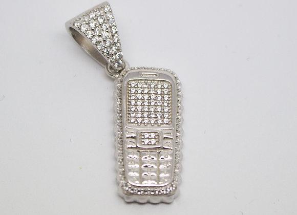 Silver Trap Phone