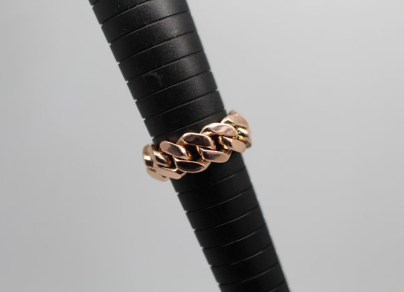 Rose Gold 'Cuban' Ring